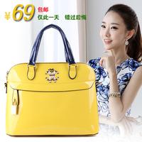 2014 candy color small bag women's portable messenger bag handbag