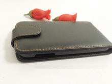 Free Shipping High Quality leather case Up Down Open Cover Case For Lenovo A859 Phone