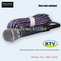 Karaoke microphone professional POWAVE MIC 826 professional karaoke wireless microphone