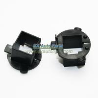 2PCS Auto Car HID Xenon Headlamp Bulbs H7 Adapter Holder For Hyundai Veloster/New Santa IX45 KIA Sorento H7 Headlight