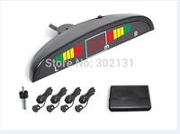 LED Display Indicator Parking Car Reverse Radar Kit 4 parking sensor system