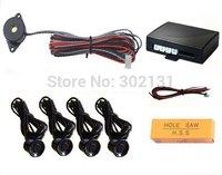 Vehicle parking sensor without LED display,With voice /BIBI alert,4 sensors