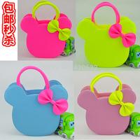 Korean children Princess Messenger Bag bag girls bag fashion handbag schoolbag cartoon Mickey