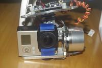 Assembled 2-Axis Aluminum Brushless Gimbal PTZ w/BGC 3.1 Controller and  Sensor for FPV s Camera GoPro3 DJI Phantom