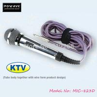 POWAVE karaoke microphones MIC 823D wired wireless mic karaoke set