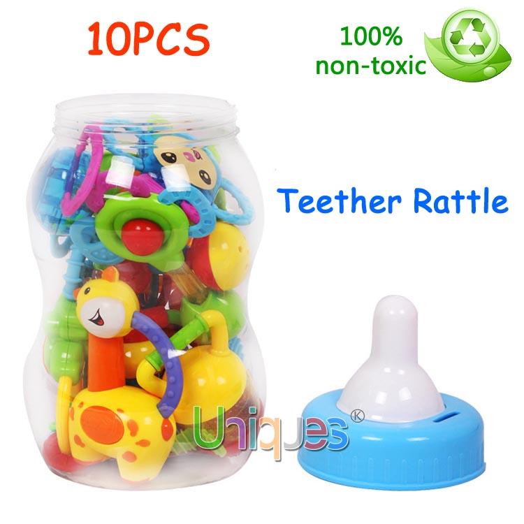 Детская погремушка Uniques 10 Baby 10teether-rattle