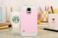 For Samsung Galaxy S5 i9600 Shockproof Protective Hybrid Impact Case Cover Card Storage Impact Silicon Case