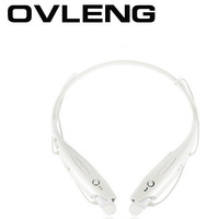 Freeshipping OVLENG Bluetooth Stereo Headset Wireless Neckband Style Sport Earphone for Iphone 5s for Samsung S3 S4 Freeshipping