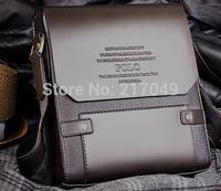 Hot Sale New 2014 Fashion Designer Brand Handbags Men Shoulder Bags Genuine Leather Men Messenger Bag Business Bag Brown