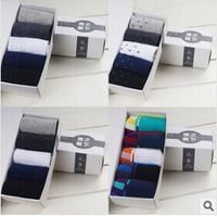 Wholesale FREE SHIPPING 8pairs/lot men warm Sock Slippers Patchwork cotton and wool men winter warm thicken Socks