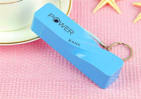 100pcs2600mah Twisted little perfume power bank External battery pack Emergency charger  with micro usb cable+Retail box