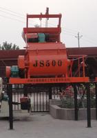 Forced JS500 concrete mixer / twin-shaft / construction equipment