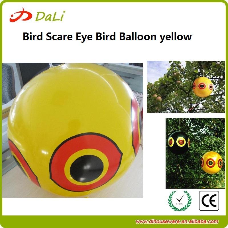 Plastic Bird Scare Eye Balloon PVC Bird Balloon for Repelling Birds(China (Mainland))