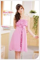 Free Shipping Fashion Uncommon 2014 Special Gathering Dress