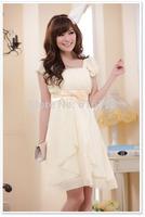 Free Shipping Fashion Uncommon 2014 Raduation Party Dress
