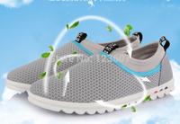 Wholesale retail new 2014 Men's boutique canvas shoes British casual shoes fashion man Summer Breathable mesh shoes Sports shoes