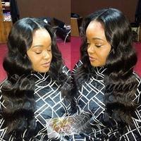 Hot selling 150%density brazilian virgin human hair deep wave glueless full lace wigs/front lace wigs for black women