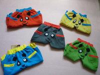 brand new retail bear kid children spring autumn trousers Children's leisure casual pants 2014 KP070R
