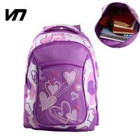 VEEVAN New mochila feminina Heart Cartoon backpack female bags canvas cartoon backpack casual school bag