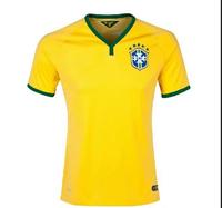 New Brazil 201406 World Cup Brazil Sports Tees/Camisetas De Futbol Sport Brasil camisa Brasil Tops/Shirts Free Shipping