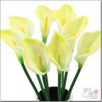 Artificial flower Silk Large calla artificial flower silk flower PU flower fashion decoration flower