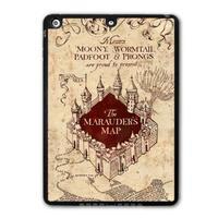 For iPad 5 Air/iPad Mini/iPad 2 3 4 Harry Potter Marauders Map Protective Black Hard Cover Case Free Shipping P51