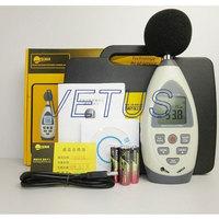 Free Shipping TECMAN TM834 TM-834 30~130dB Hold Fast / Slow function USB interface noise sound level meter data storage