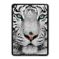 For iPad 5 Air/iPad Mini Free Shipping White Tiger Animal Protective Black TPU Soft Cover Case Free Shipping P31