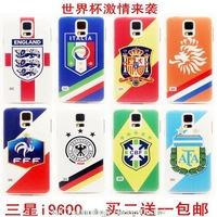 World Cup 2014 Case Europe America football team Phone Cover for Samsung Galaxy s5 i9600 Skin Protective shell 10pcs/lot