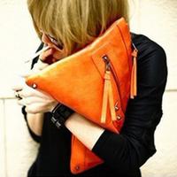 Hot Sale 2014 New Women Messenger Bags Desigual Fashion Ladies Envelope Clutch Handbags High Quality Popular Vintage Bag 2Colors