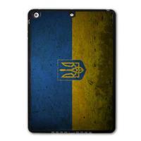 For iPad 5 Air/iPad Mini Retro Ukraine National Flag Protective Black TPU Soft Cover Case Free Shipping P42