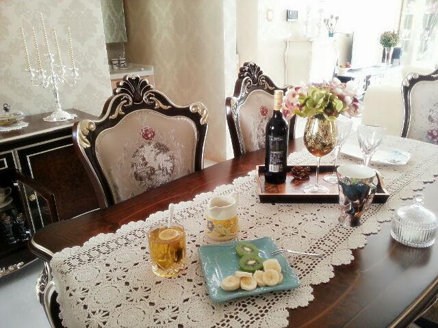 Handmade crochet Luxury Tea/coffee table runner Cloth tablecloths Crochet Scarf Shawl Cape TV cabinet cover cloth[Can custom]9(China (Mainland))