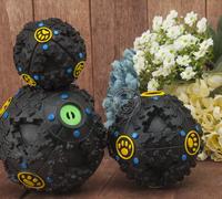 Doggy Chew Treat Training Holder Pet Dog Voice Sound Ball Toy Feeding Food Ball drop shipping