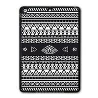 For iPad 5 Air/iPad Mini Black White Tribal Aztec Protective Black TPU Soft Shell Cover Case Free Shipping P37