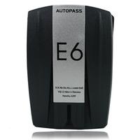 Free & Drop Shipping! High Quality E6 Car Radar Detector Russian/English Version LED Display