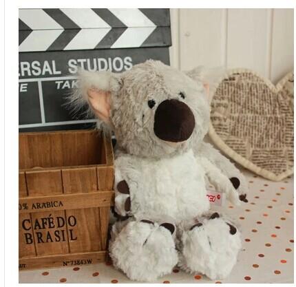 stuffed animal 35cm grey koala bear plush toy doll gift w2855(China (Mainland))