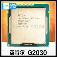 Intel Pentium G2030 Dual Core CPU LGA 1155 instead of G2020 free shipping