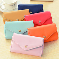Multifunction women wallets female hand bag coin purse for iphone Free shipping