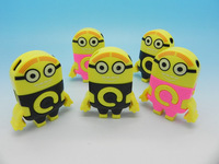 Wholesale 100pcs/lot Cute Minions Card without LCD MP3 Mini mp3 player! Popular products in USA!