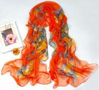 Luxury Women's  Long Chiffon Scarf Wraps Shawl Soft Scarves sf1051