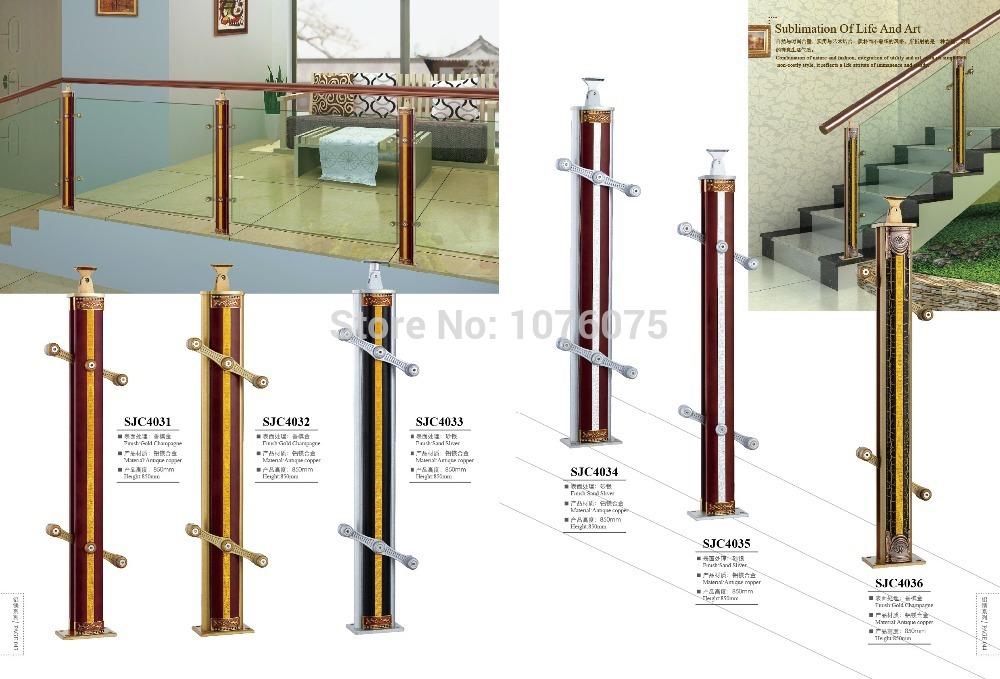 SJC4036CustomizeAL-MG ALLOY stair armrest fence guardrail railing AL-MG ALLOY SERIES(China (Mainland))