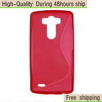 High Quality Soft TPU Gel S line Skin Cover Case For LG G3 D850 Free Shipping UPS DHL EMS HKPAM CPAM er4