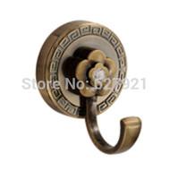 Antique brass alloy clothes hook row hook single hook hangers wall clothes coat hooks