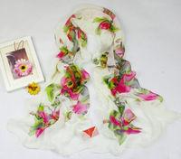 Luxury Women's  Long Chiffon Scarf Wraps Shawl Soft Scarves sf1052