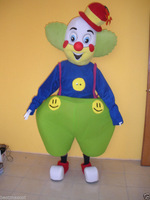 Adult halloween clown mascot costumes for adults advertising mascot animal costume school mascot fancy party dress costumes