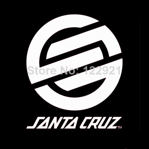 High Quality Santa Cruz OEM Skateboard skate Logo 100% Cotton Print Casual Fashion Loose T-shirt Tee Camiseta Dress Cloth 2(China (Mainland))