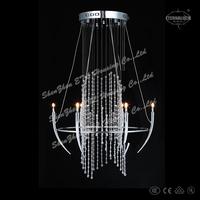 Shipping free 2014 modern novel crystal Chandelier lighting for australia ETL82126