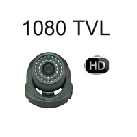 "1080TVL 1/3"" SONY CCTV 3.6mm LENS 36IR Day/Night Vandal Proof Security Dome Camera"