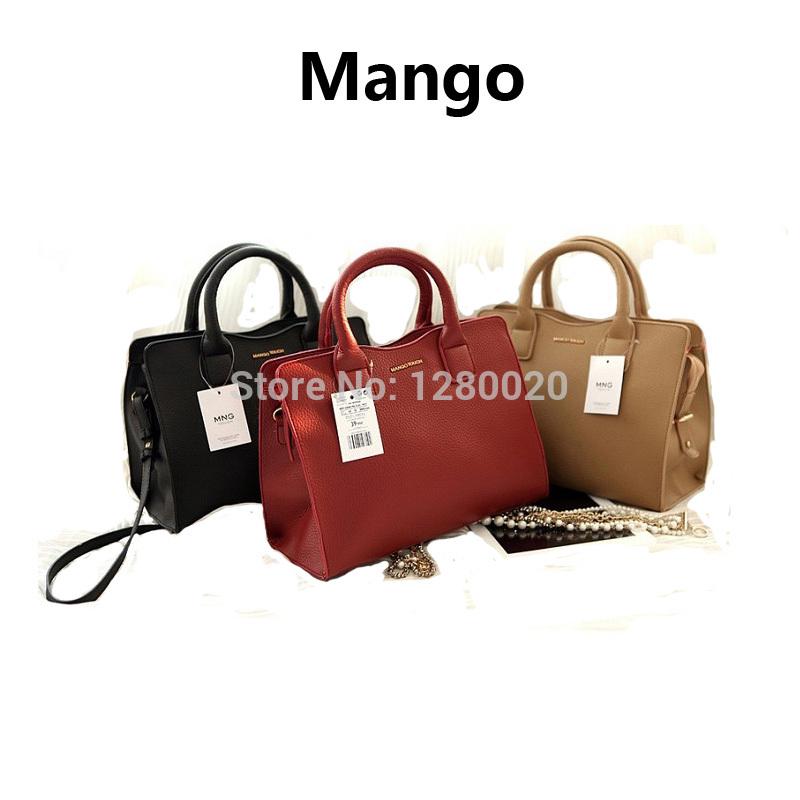 Nueva llegada 2014 mango toque de la mujer moda maletín messenger bag