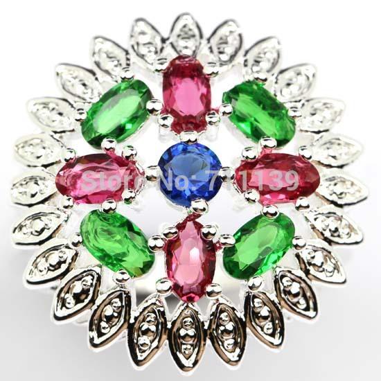 Raspberry Rhodolite Garnet Rhodolite garnet ring